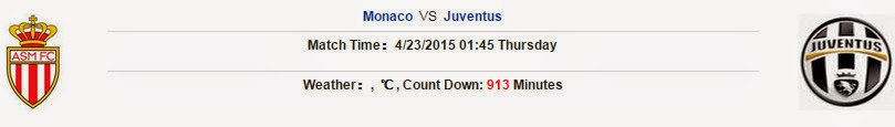 Monaco vs Juventus (Champions League, 01h45 ngày 23/04)