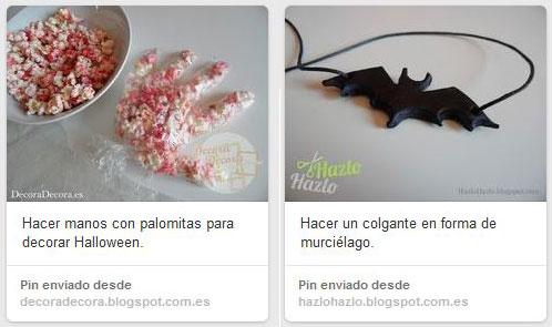 Ideas para Halloween Pinterest