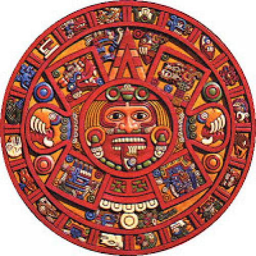 Face In The Mayan Calendar