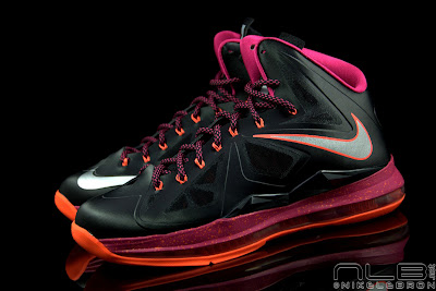 lebron10 floridians 35 web black The Showcase: Nike LeBron X Miami Floridians Throwback