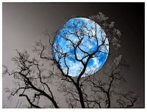 December 31St Blue Moon