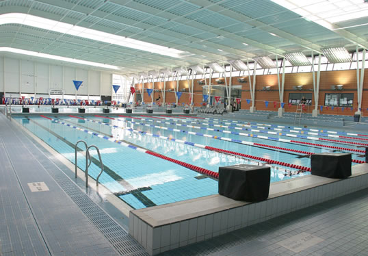 Ocr sport unit 1 sporting environment - Loughborough university swimming pool ...