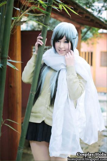 nurarihyon no mago cosplay - yuki onna 2