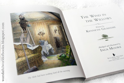 Wind in the Willows, illustrated by Inga Moore, Title Page