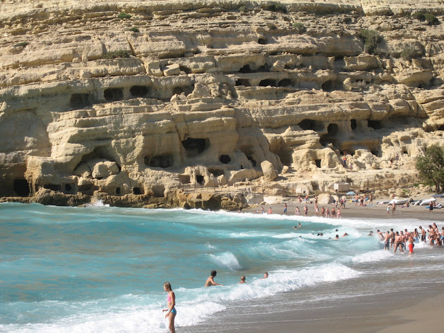 Blog de voyage-en-famille : Voyages en famille, D'Héraklion à Matala