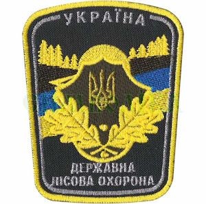 ДЛО Україна/повноколірна/нарукавна емблема