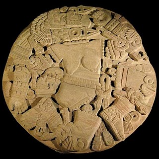 Aztec Goddess Coyolxauhqui Image