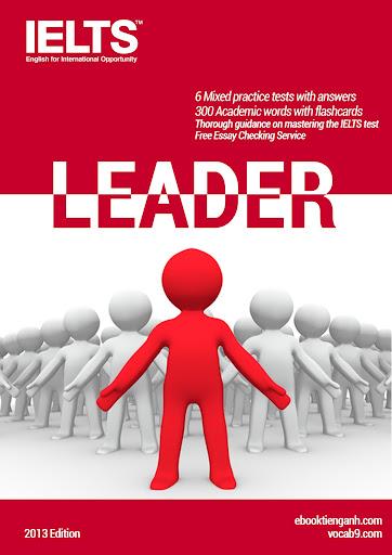 IELTS LEADER - bộ sách luyện IELTS đầy đủ và chi tiết