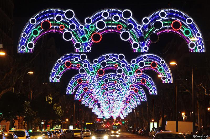 luces navidad, Gran Capitán, mezquita, arcos de la mezquita, córdoba, españa, navidad, festividad, decoración navideña