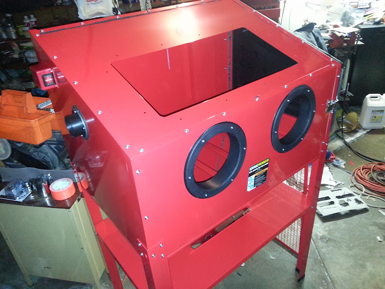 Harbor Freight 40lbs A Blast Cabinet