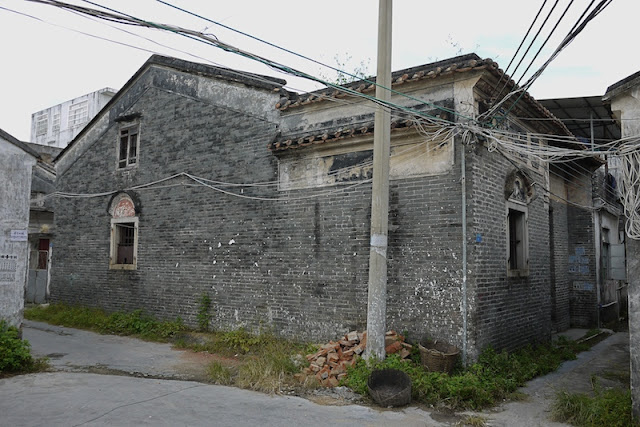 older building in Hetoupu, Zhuhai, China