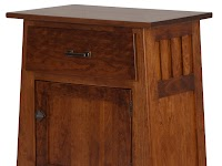 Cherry Nightstands with Doors