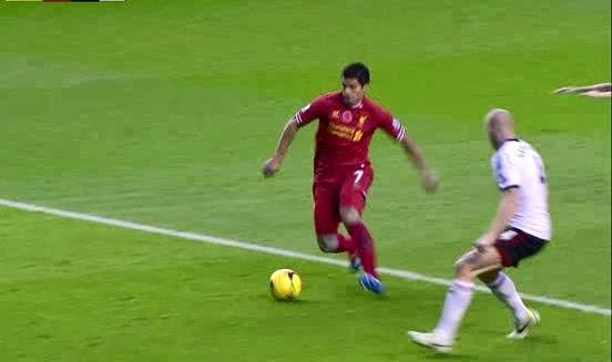 Suarez, Liverpool - Fulham