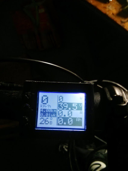 Ваттметр/велокомп на ардуино