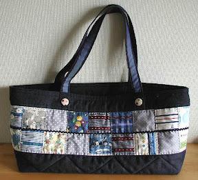 パッチワークのバッグ01