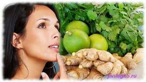 Лечебные свойства имбиря
