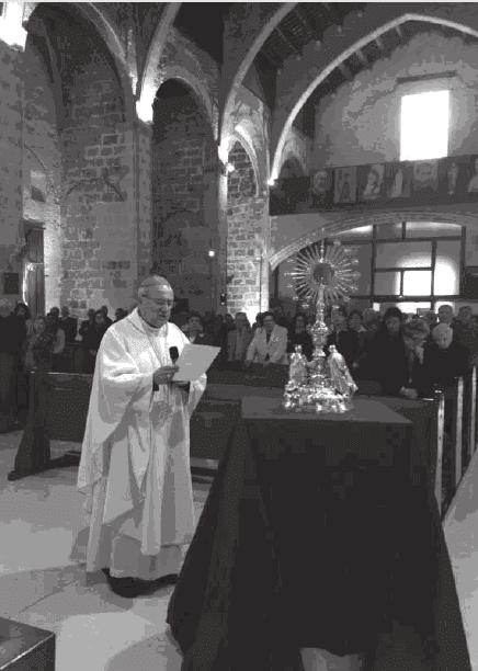 Nueva Custodia 2013. Iglesia Colegial Basílica de Santa María. 600 aniversario de su erección.