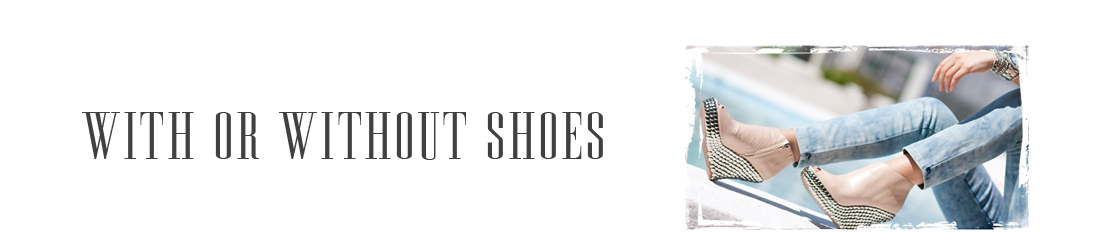 ! With Or Without Shoes - Blog Moda Valencia Tendencias
