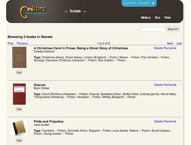 มาสร้างคลังหนังสือ ebook จาก Calibre Server กัน « Thai Open Source