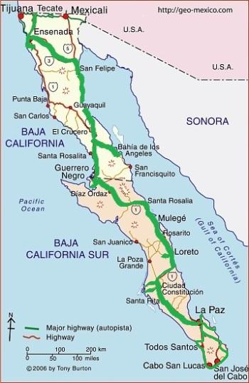 mexique 2 Baja California :