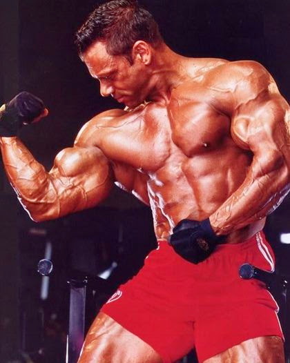 Sexy in Red Part II - Hot Male Bodybuilders