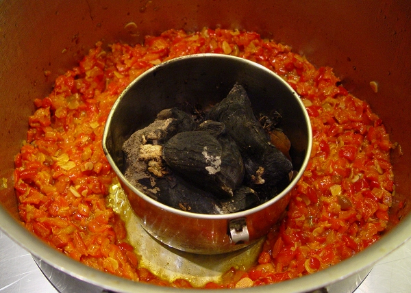 Smoking Red Pepper Compote