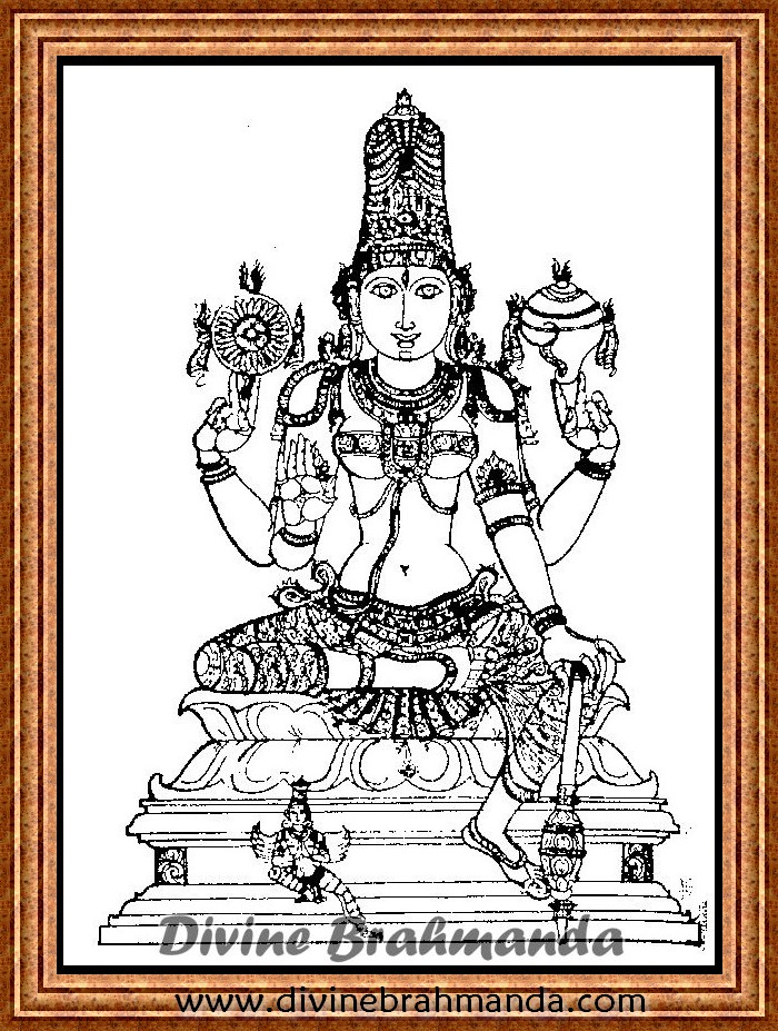 Soundarya Lahari Sloka, Yantra & Goddess To Get Strength Of Mind - 72