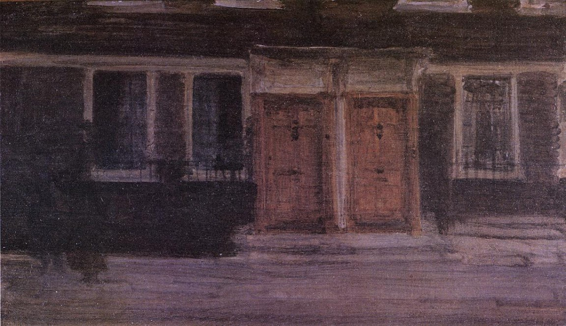 James Abbott Whistler - Chelsea Houses