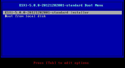 Degradar versión VMware ESXi 5.1 a 5.0 con instalación limpia