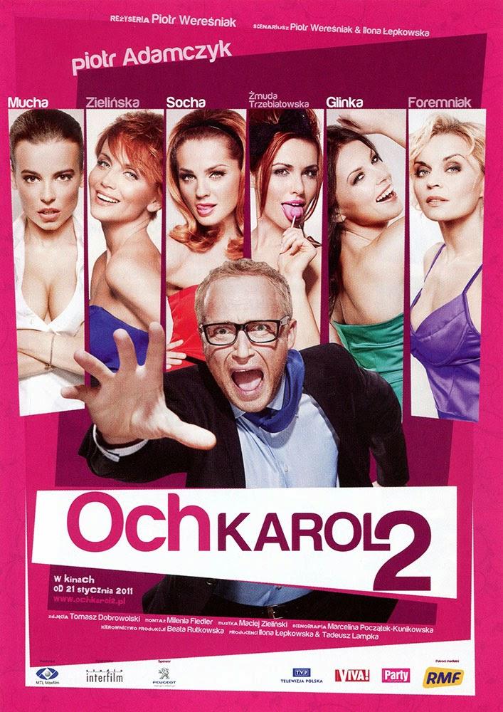 Ulotka filmu 'Och, Karol 2 (przód - wersja B)'
