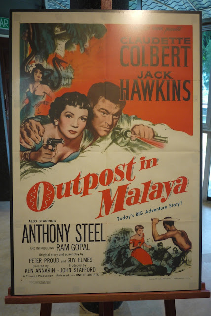 Outpost in Malaya movie poster