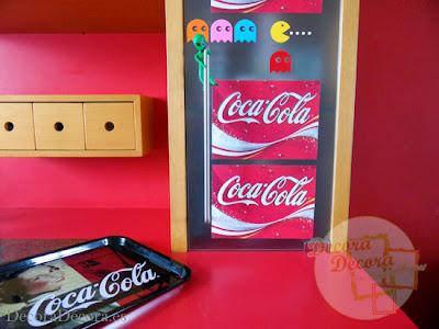 Coca Cola para decorar.