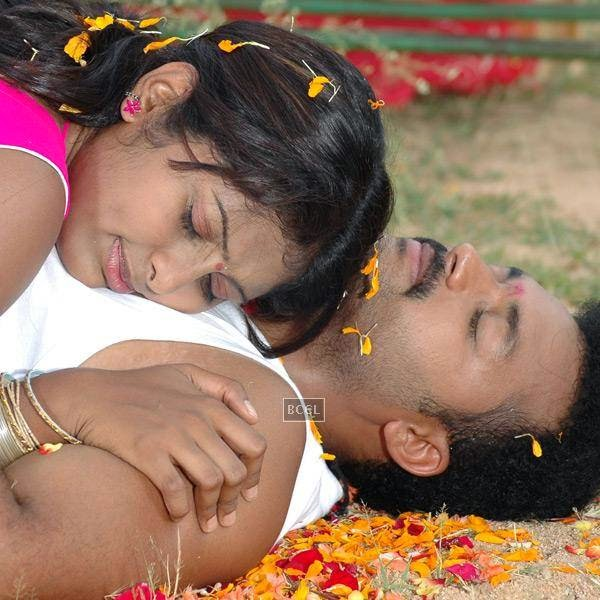 A still from Telugu movie Aggiravva. (Pic: Viral Bhayani)
