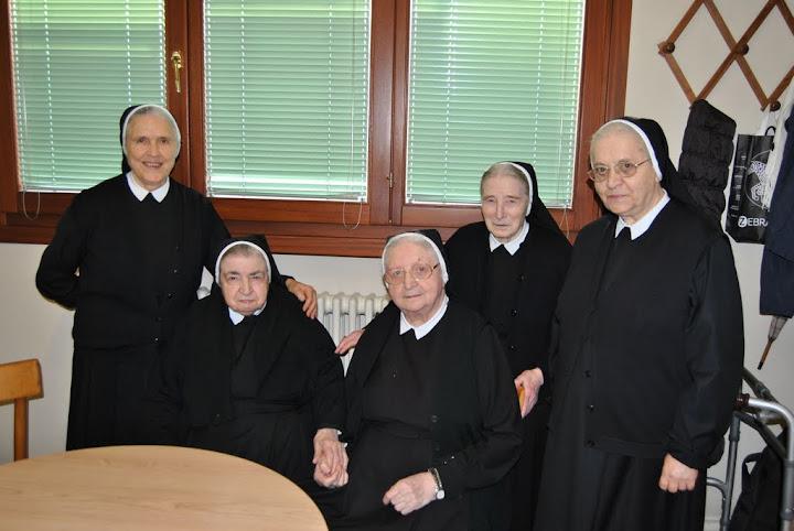 La comunità delle suore della Riparazione di San Donà