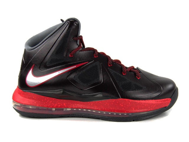 Kids8217 Nike LeBron X GS 8211 Black and Red 8211 Available Early ...