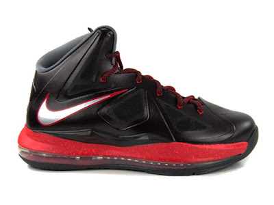 nike lebron 10 gs black red 1 01 Kids Nike LeBron X GS   Black and Red   Available Early