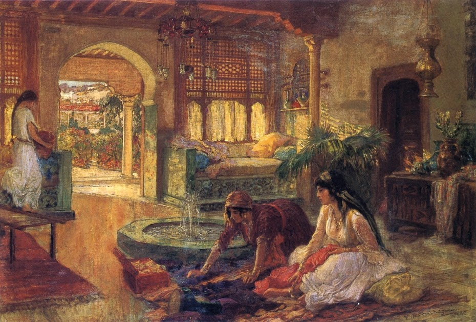 Frederick Arthur Bridgman - Orientalist Interior