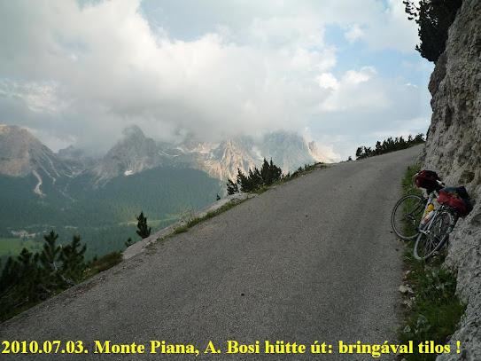 Györgyi Gábor & Rifugio Bosi / Monte Piana (2205 m)