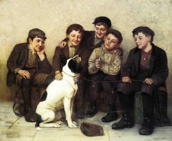 John George Brown - In Good Hands