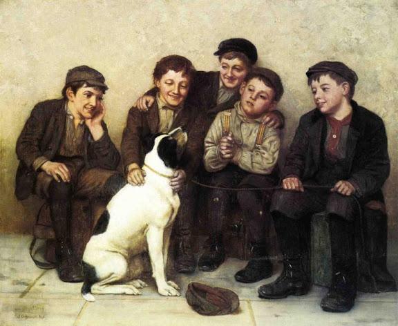 John George Brown - In Good Hands