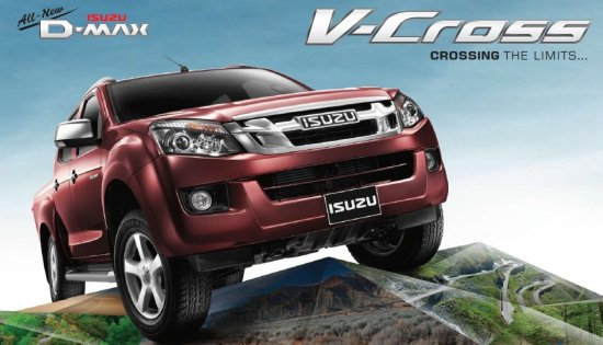 All New Isuzu D-MAX 2012 Cab 4 V-Cross