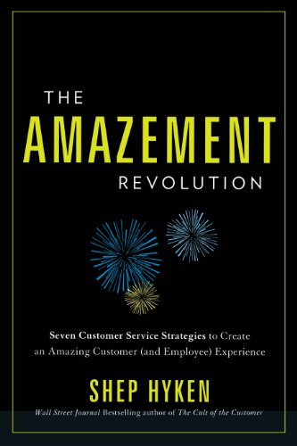 8 Customer Service books - The Amazement Revolution: Seven Customer Service Strategies to Create an Amazing Customer (and Employee) Experience by Shep Hyken - HelpCrunch blog