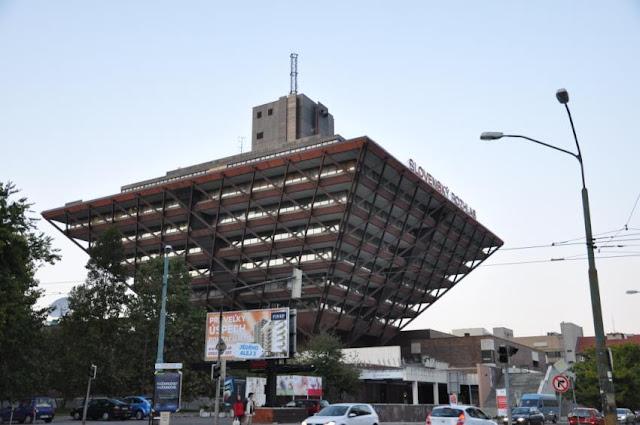 倒金字塔型的斯洛伐克廣播電台