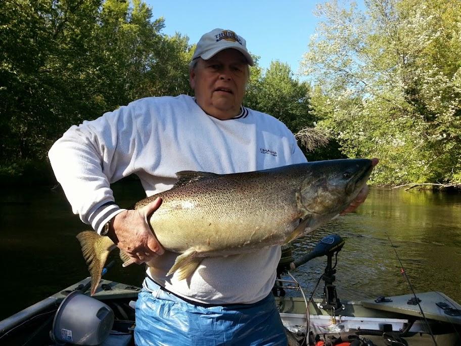 Pere Marquette River King Salmon Guide Service