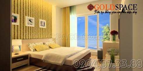 Thiết kế nội thất chung cư goldspace