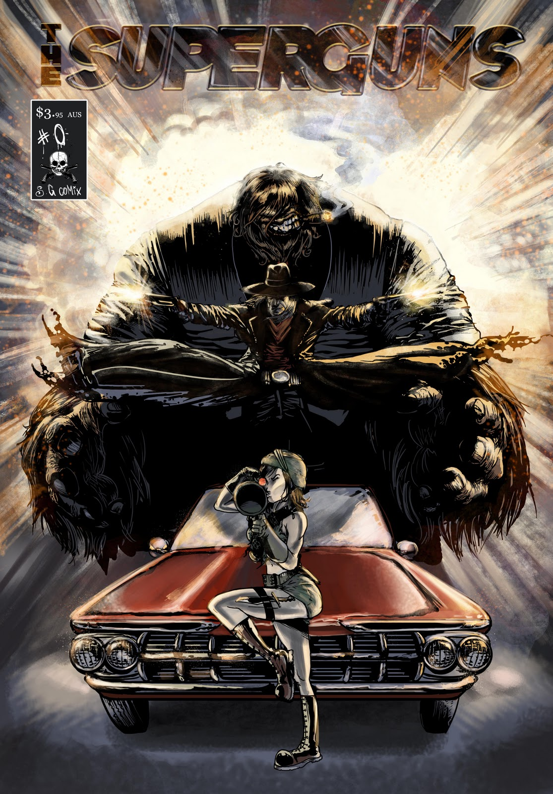 Comic cover  WIP