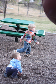Outdoor Play = Gross Motor Activity