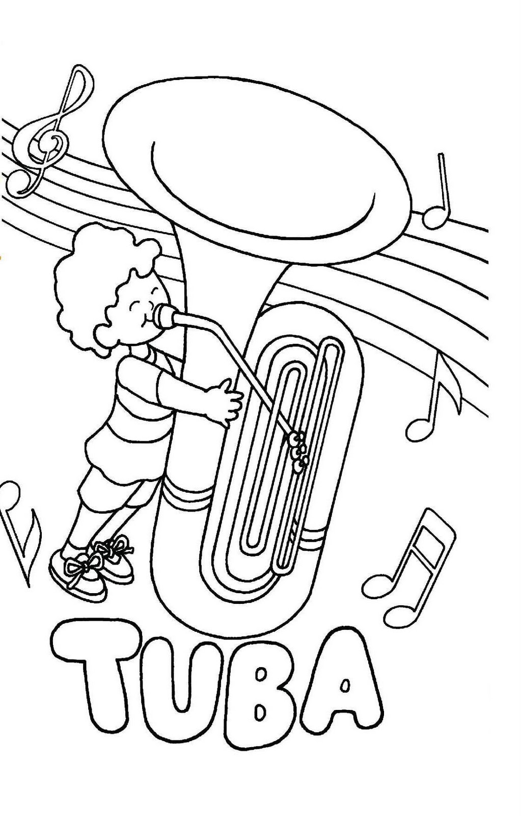 tubby the tuba coloring pages - photo#14