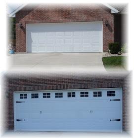Forever Decorating Carrige House Look Garage Doors