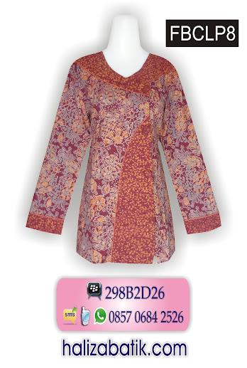 baju kerja, gambar model batik, motif batik terbaru
